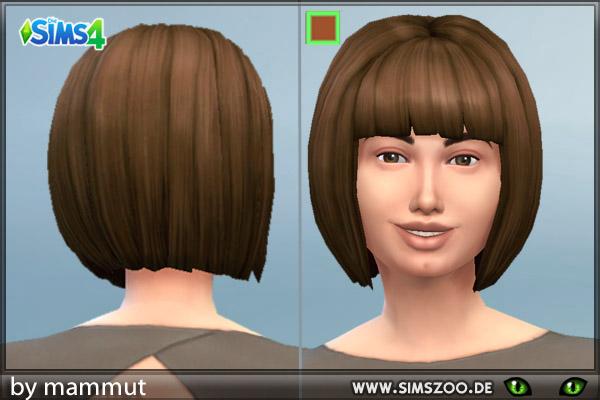 Blackys Sims 4 Zoo: Short Bob by Mammut