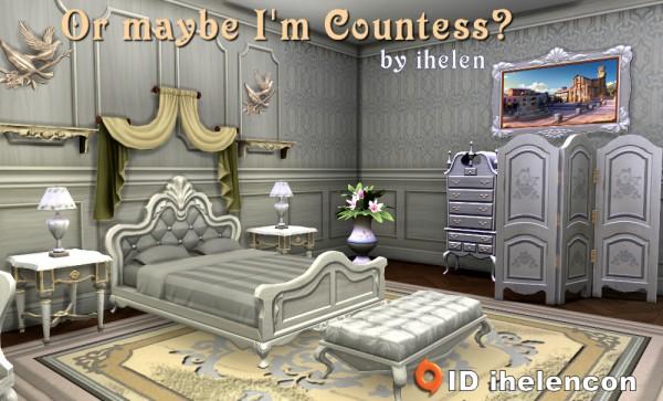 Ihelen Sims: Bedroom Im Countess