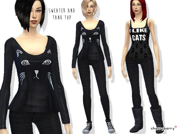 22 Simple Sims 4 Outfit Sets | cabeqq com
