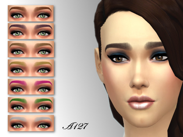 The Sims Resource: Eyebrows 001 by altea127
