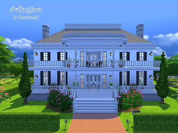 The Sims Resource: Arlington   residential house by Christina 51