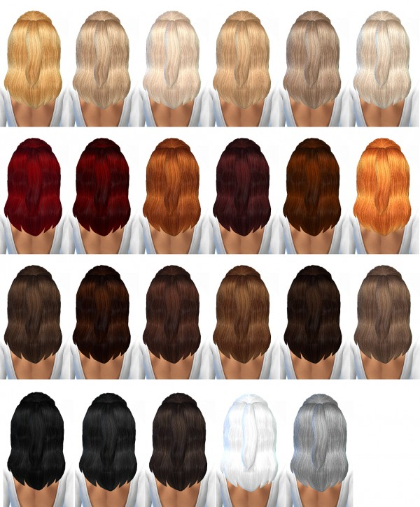 Miss Paraply: Hair retextured