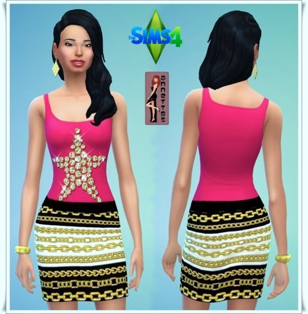 Annett`s Sims 4 Welt: Party outfit