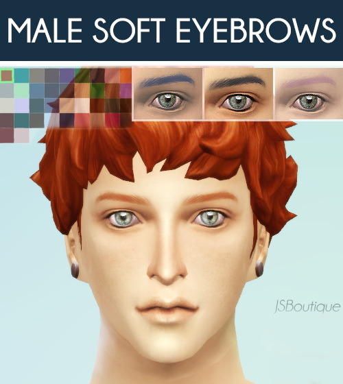 how to fix male eye brows