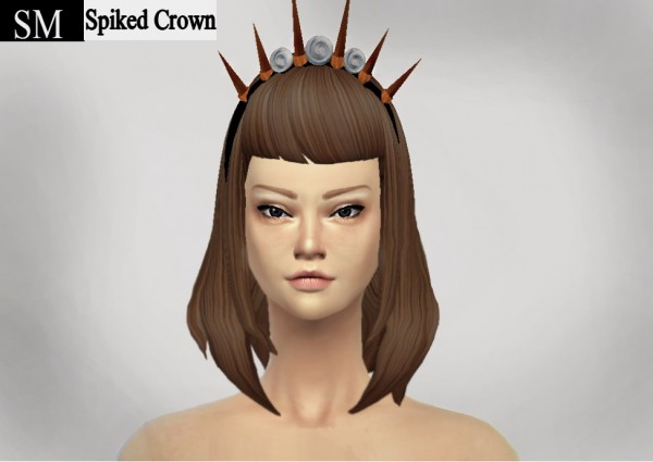Simmaniacos: Spiked Crown   new mesh