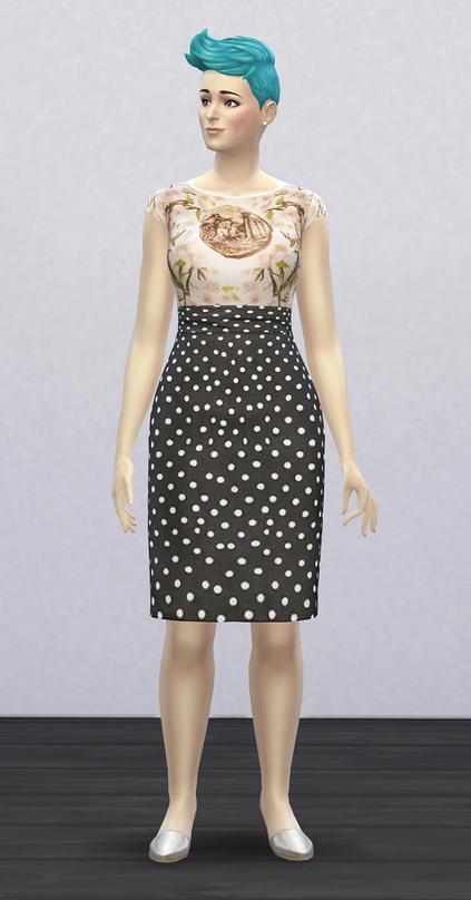 Rusty Nail: DG dress