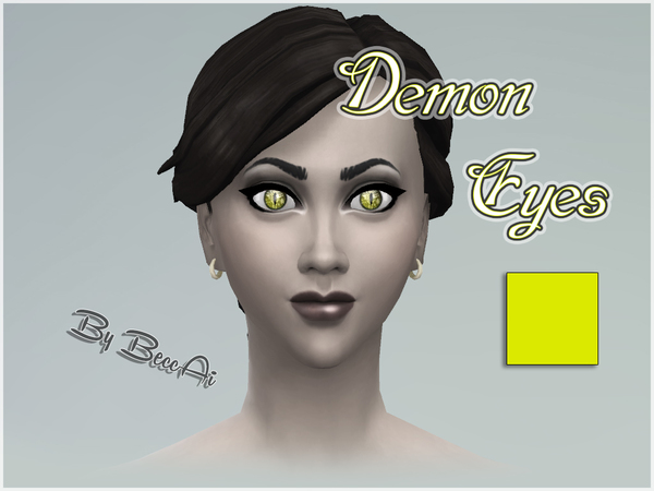 The Sims Resource: Demon Eyes by BeccAi