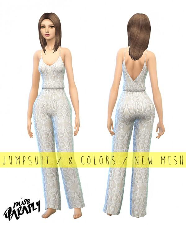 Miss Paraply: Lace jumpsuit