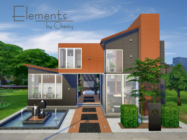 The sims resource elements residential home by chemy for Home design resources