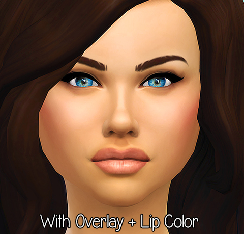Seventhecho: Natural Lips   a lip overlay