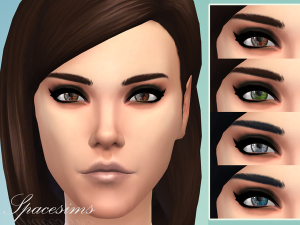 The Sims Resource: Hypnotic Eyes by Spacesims