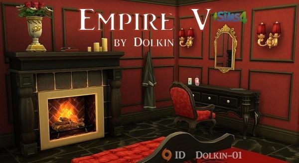 Ihelen Sims: Empire V bedroom bу Dolkin