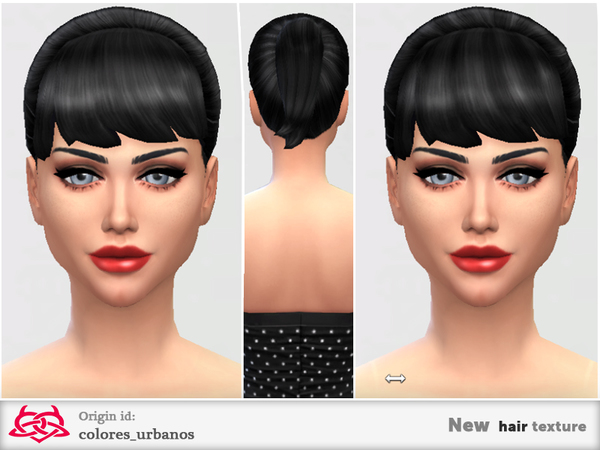 The Sims Resource: New hair textures 03 by Colores Urbanos