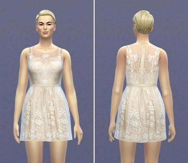 Rusty Nail: Needle & Thread II dress