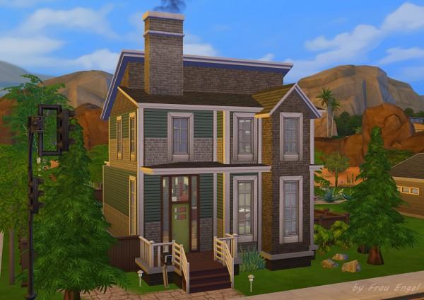 Frau Engel: The Magic Cottage   first house
