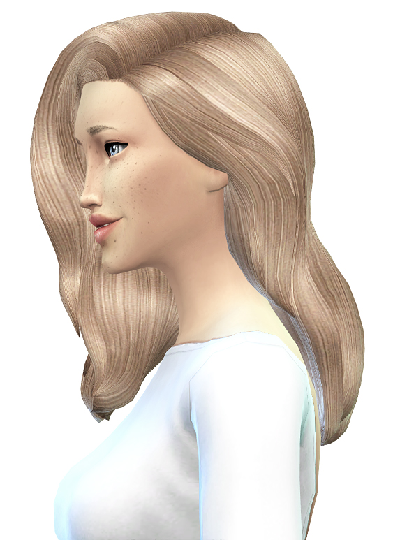 Miss Paraply: Hair retexture wip