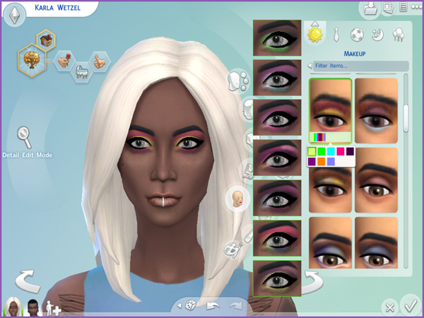 The Sims Resource: Sugarpill Eyeshadow 02 by drea219