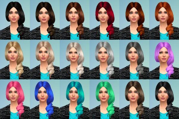 Delirium Sims: 3 Hair recolors