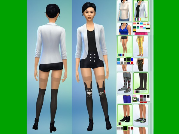 The Sims Resource Cute Totoro Outfit By Lanessear Sims