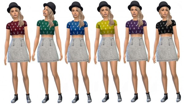 Miss Paraply: Full body outfit in 6 colors