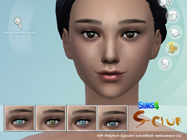 The Sims Resource: Eyecolor 02 by S Club