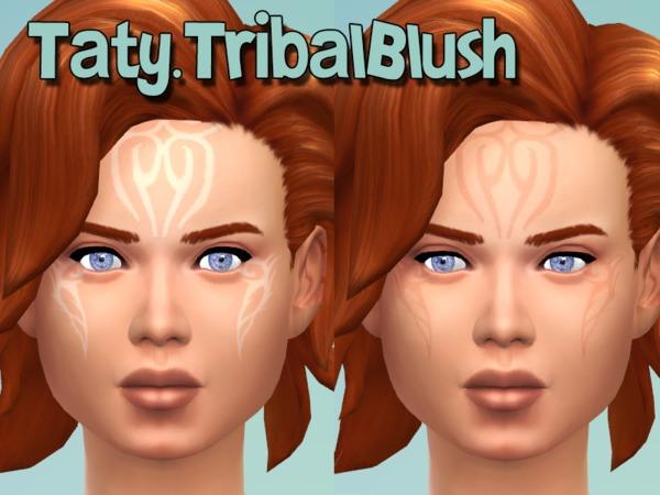 The Sims Resource: Tribal Blush by Tattygagg