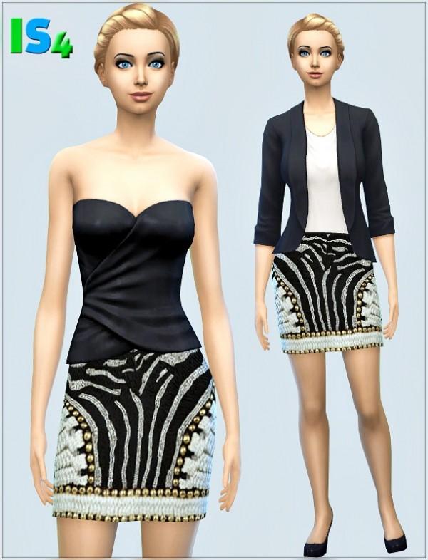 Irida Sims 4: Skirt 1