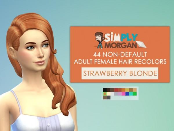 Simply Mogan: 44 Non Default Adult Female Hair Recolors