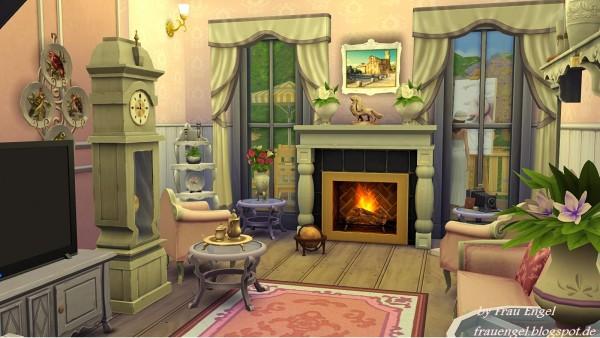 Frau Engel Flower Cottage House Sims 4 Downloads