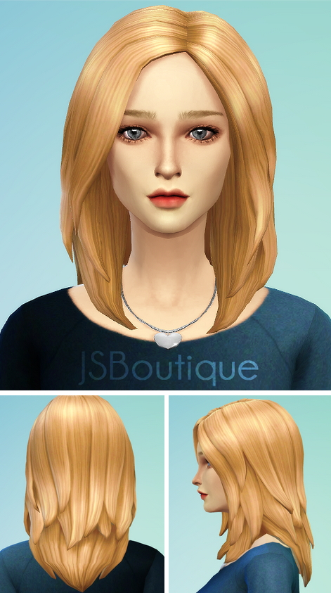 Hairstyles: Hairstyle 1 new mesh from JS Boutique