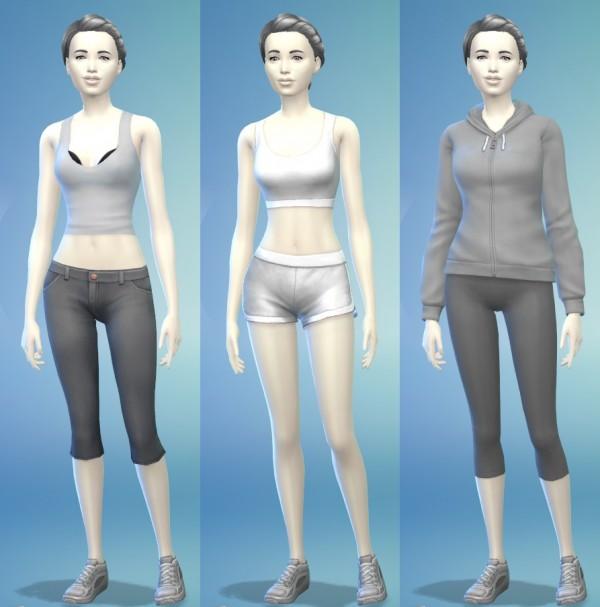 The simsperience: Mona Chrome female sims model