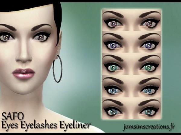 Jom Sims Creations: Safo make up set
