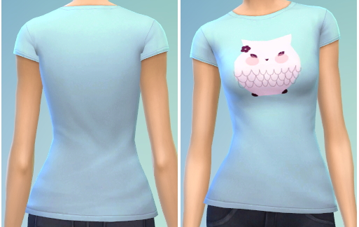 The simsperience: 4 T Shirts recolors