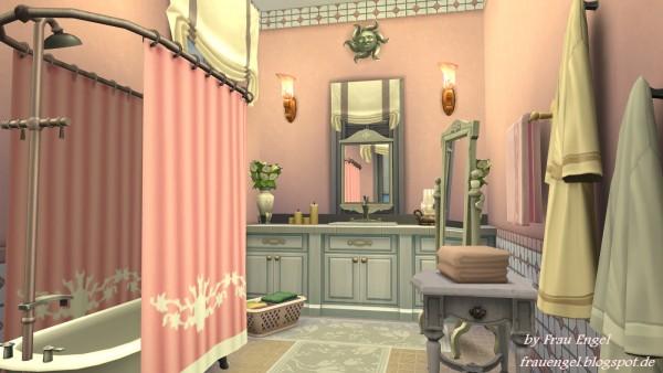Frau Engel: Flower cottage   house