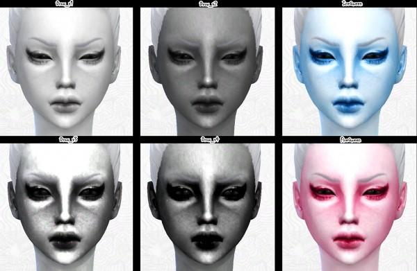 Decay Clown Sims: Skin Tatoos