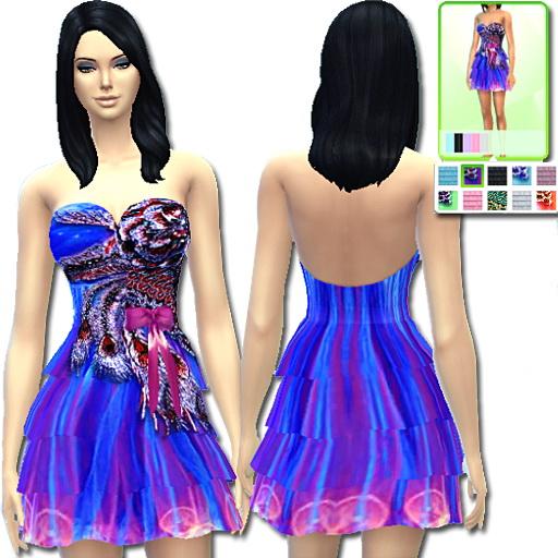 Dany`s Blog: Dress Peacock
