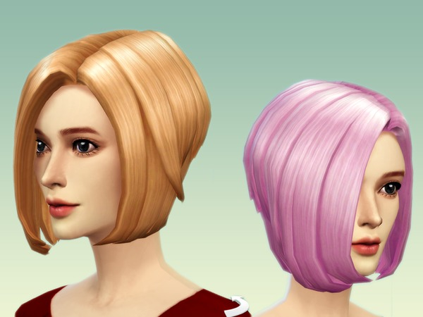 The Sims Resource: Hair 2 new mesh by JS Boutique