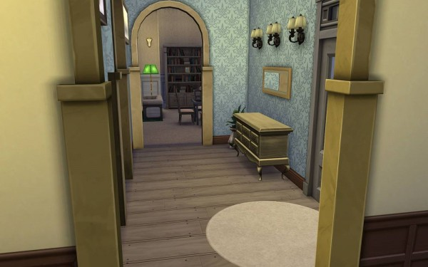 JarkaD Sims 4: Colonial house romantic