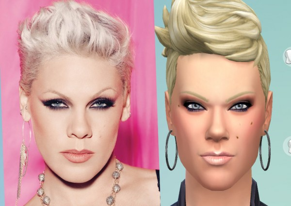 Mod The Sims: P!nk sims model by Amber2403