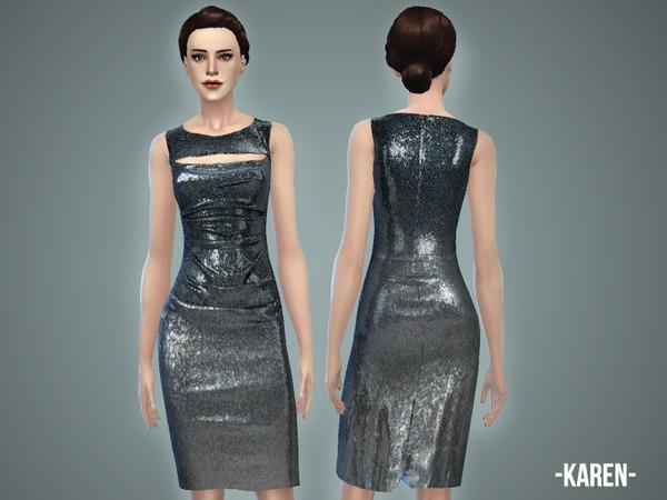 The Sims Resource: Karen   Dress by April