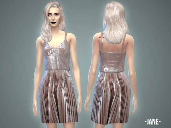 The Sims Resource: Jane Dress by April