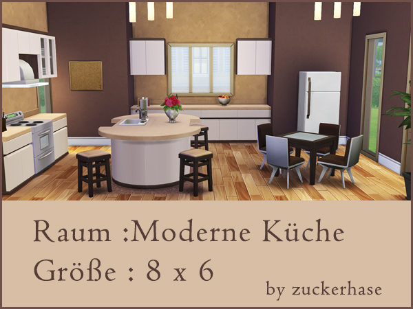 Akisima Sims Blog: Modern kitchen