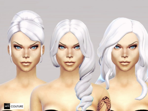 MissFortune Sims: No more Grey Hair    Intense White (Part 2)