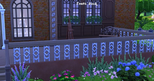 Mod The Sims: A Charming Split Level Brownstone Home by BSUGurl83