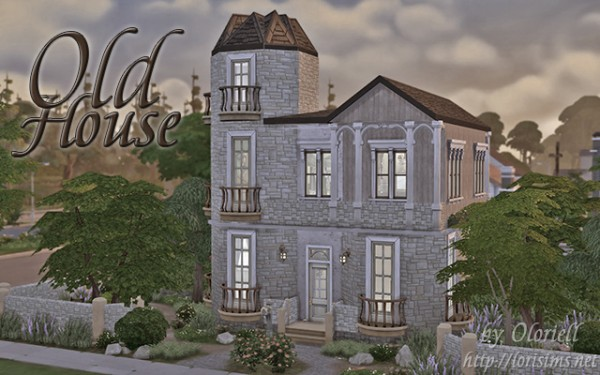 Lori sims old house sims 4 downloads for Classic house sims 4