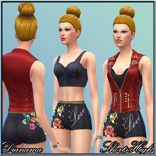 Saratella`s Place: Little Shorts by Dianama