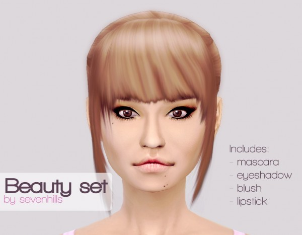 Sevenhill Sims: 750 followers gift beauty set