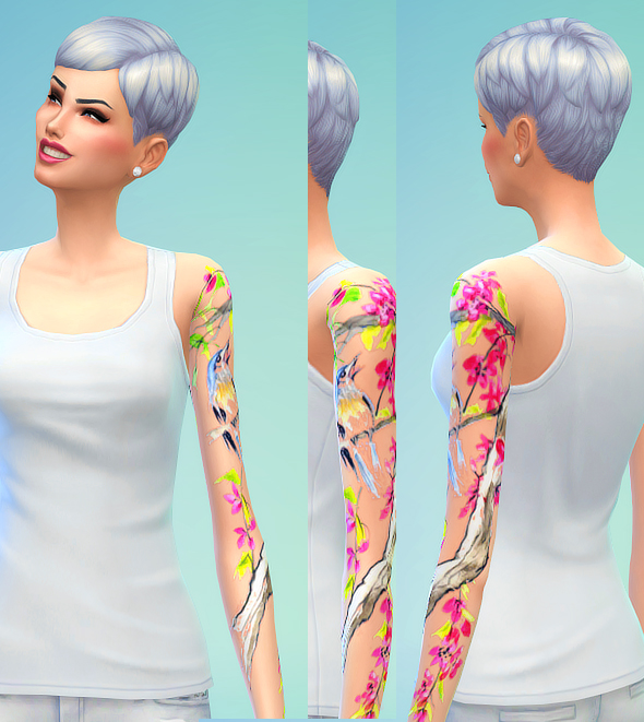 Seventhecho  Female Tattoos. Seventhecho  Female Tattoos   Sims 4 Downloads