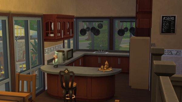 Blackys Sims 4 Zoo: Bibliothek Creek by petra0203