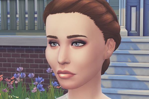 Melissa Sims 4: Katniss Everdeen female sims model